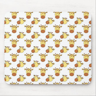 Cute Giraffe Pattern. Mousepad