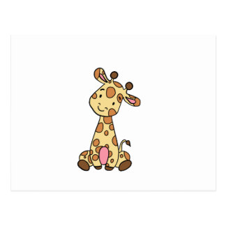 CUTE GIRAFFE POSTCARD