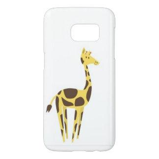 cute giraffe Samsung Galaxy S7, Barely There Phone