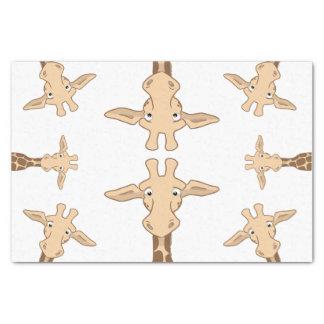 Cute Giraffe Tissue Paper