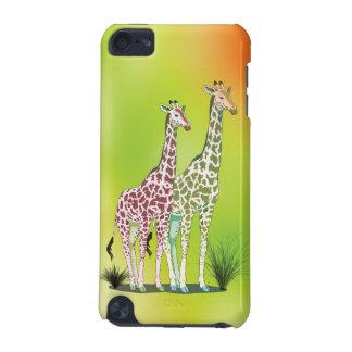 Cute Giraffes iPod Touch 5G Covers