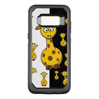 Cute Giraffes OtterBox Commuter Samsung Galaxy S8 Case
