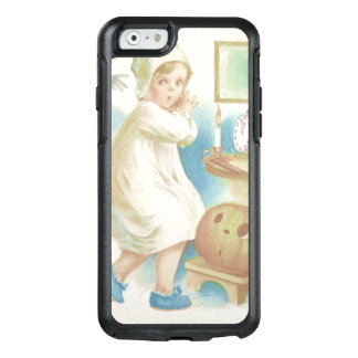 Cute Girl Ghost Jack O Lantern Pumpkin OtterBox iPhone 6/6s Case