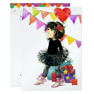 Cute Girl Invitations