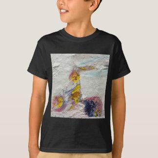 Cute Girl on a Bike original artwork T-Shirt