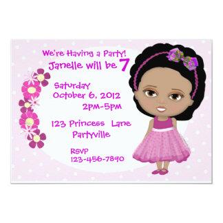 Cute Girl Party Invite