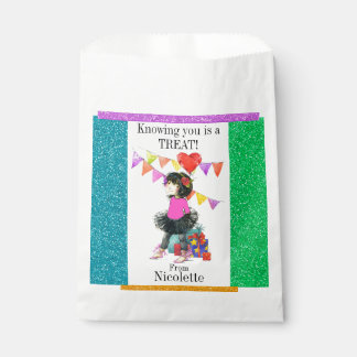 Cute Girl Treat Bag