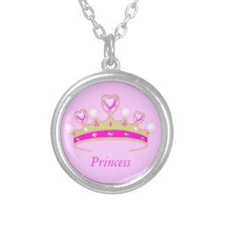 Cute Girl's Pink Faux Jewel Princess Crown Tiara Custom Jewelry