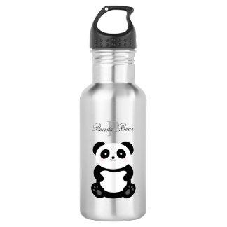 Cute Girly Baby Panda Bear Monogram 532 Ml Water Bottle