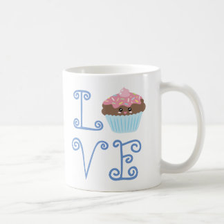 Cute Girly Colorful Kawaii Sweet Love Cupcake Coffee Mug