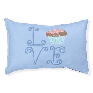 Cute Girly Colorful Kawaii Sweet Love Cupcake Pet Bed