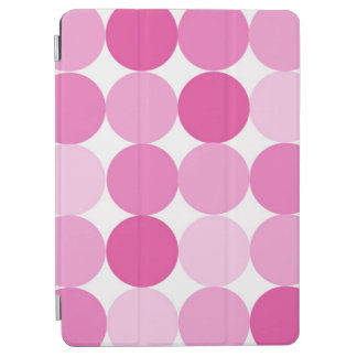 Cute Girly Elegant Pink Polka Dots iPad Air Cover