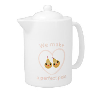 Cute Girly Kawaii We Make A Perfect Pear Pun Humor