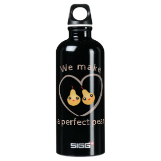 Cute Girly Kawaii We Make A Perfect Pear Pun Humor SIGG Traveller 0.6L Water Bottle