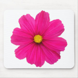 cute girly pink flower pattern mouse pad