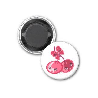 Cute Girly Red Cherries Magnet