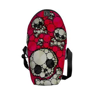 Cute Girly Skull Pattern Messenger Bag