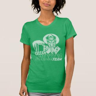 Cute Girly St Patricks Day Irish Drinking Team T-shirt