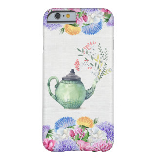 Cute girly Teatime Case Barely There iPhone 6 Case