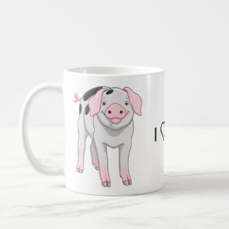Cute Gloucestershire Old Spots Pig Coffee Mug