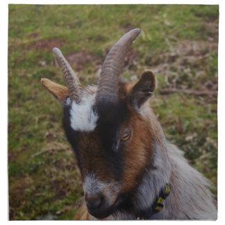 Cute Goat. Cloth Napkins