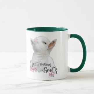 Cute GOAT | I Just Freaking LOVE Baby Goats OK Mug