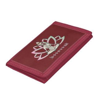CUTE GOAT YOGA | Namaste GetYerGoat™ Tri-fold Wallet