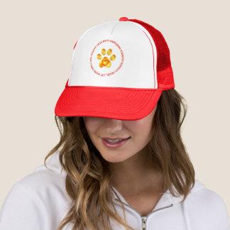 Cute Golden Paw Trucker Hat