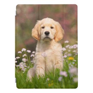 Cute Golden Retriever Dog Puppy Face Animal Photo iPad Pro Cover