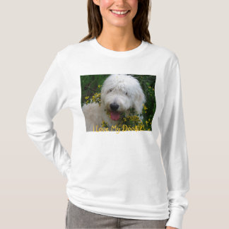 """Cute Goldendoodle Hoodie, """"I love My Doodle!"""" T-Shirt"""