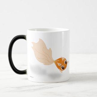 Cute goldfish funny anime cartoon characters mug
