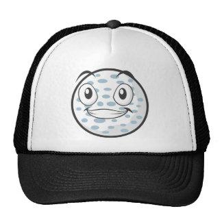Cute Golf Ball Cartoon Trucker Hat