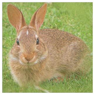Cute Golf Groundskeeper Bunny Fabric