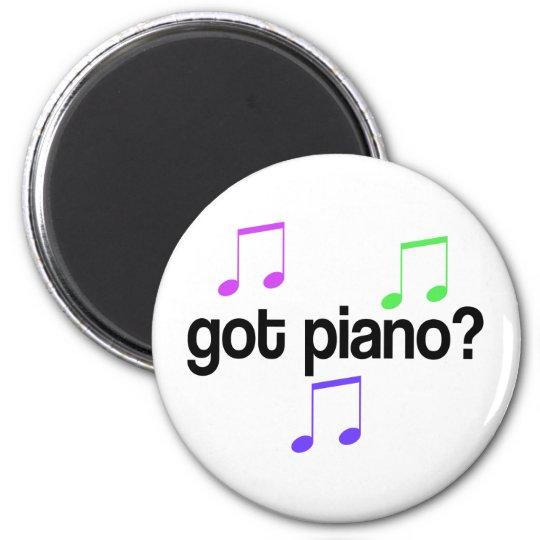 Cute Got Piano Music Gift Magnet