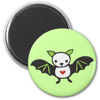 Cute Goth Bat Magnet