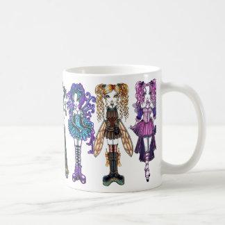 Cute Gothic Fairy Art Mug