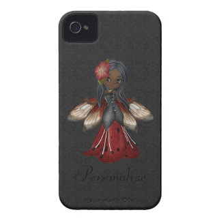 Cute Gothic Flower Fairy BlackBerry Bold iPhone 4 Cover