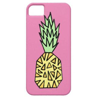 Cute Graphic Pineapple Illustration iPhone 5 Case