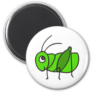 Cute Grasshopper Magnet