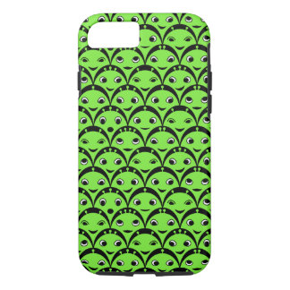 Cute Green Alien Pattern Case