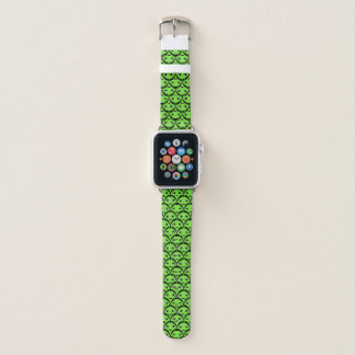 Cute Green Aliens Apple Watch Band