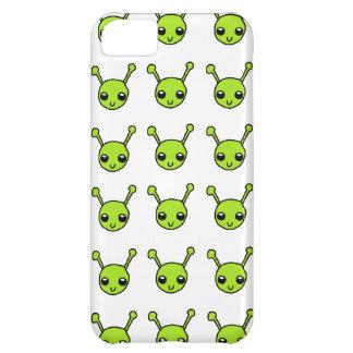Cute Green Aliens iPhone 5C Case
