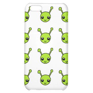 Cute Green Aliens iPhone 5C Covers