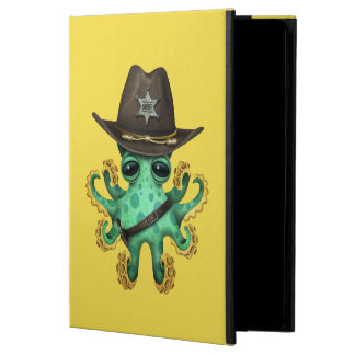 Cute Green Baby Octopus Sheriff Powis iPad Air 2 Case