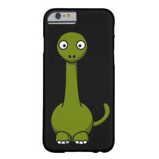 Cute Green Dinosaur Barely There iPhone 6 Case