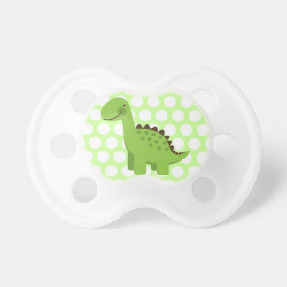Cute Green Dinosaur Pacifiers