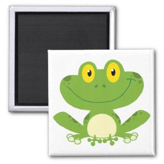 Cute Green Frog Fridge Magnets