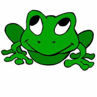 Cute Green Froggie Cut Out