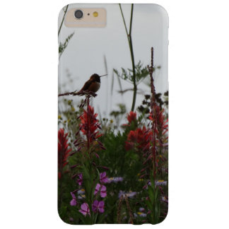 cute green Hummingbird at Dusk Barely There iPhone 6 Plus Case