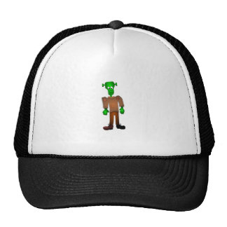 Cute Green Monster Cartoon Mesh Hat